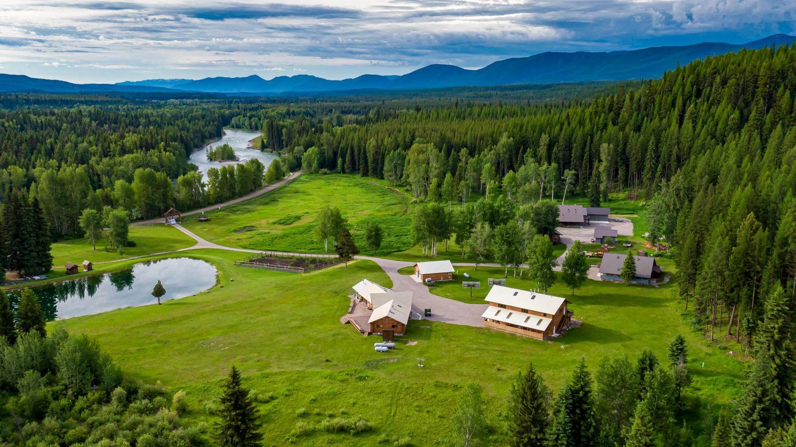 Single Family Homes for Sale at 13750 North Fork Road Polebridge, Montana 59928 United States