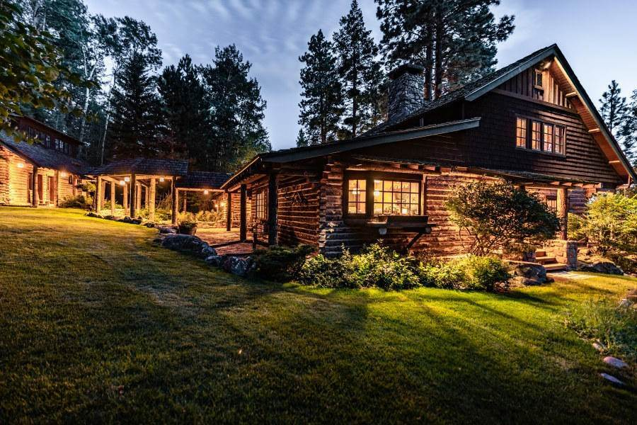 10. Single Family Homes for Sale at 13817 Sylvan Drive Bigfork, Montana 59911 United States