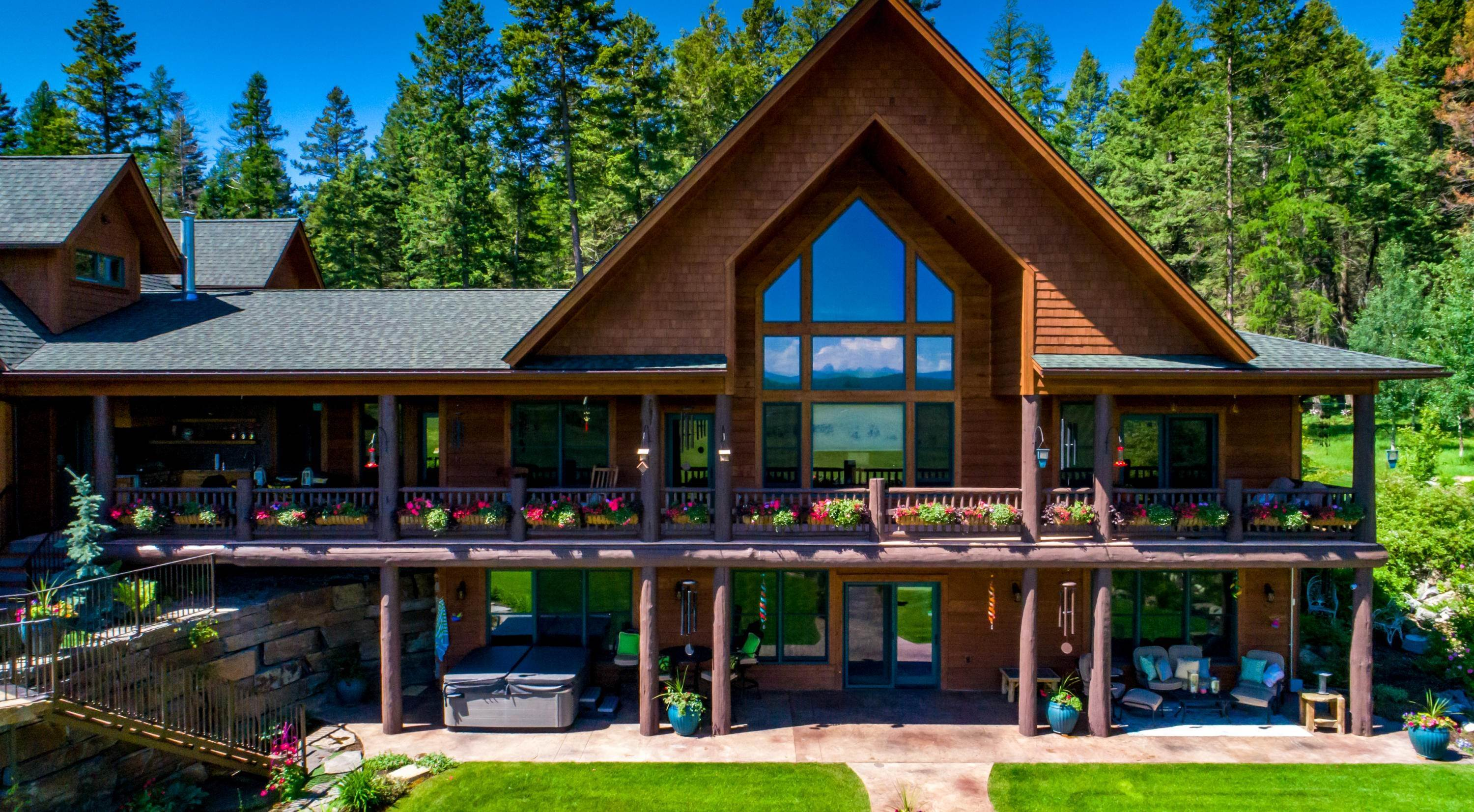 7. Single Family Homes for Sale at 1160 Kuhns Road Whitefish, Montana 59937 United States