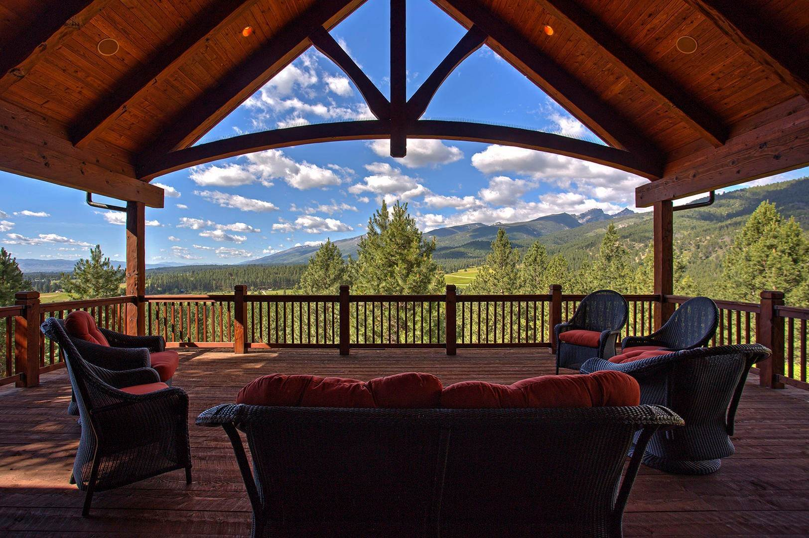 Single Family Homes for Sale at 848 Sweathouse Creek Road Victor, Montana 59875 United States