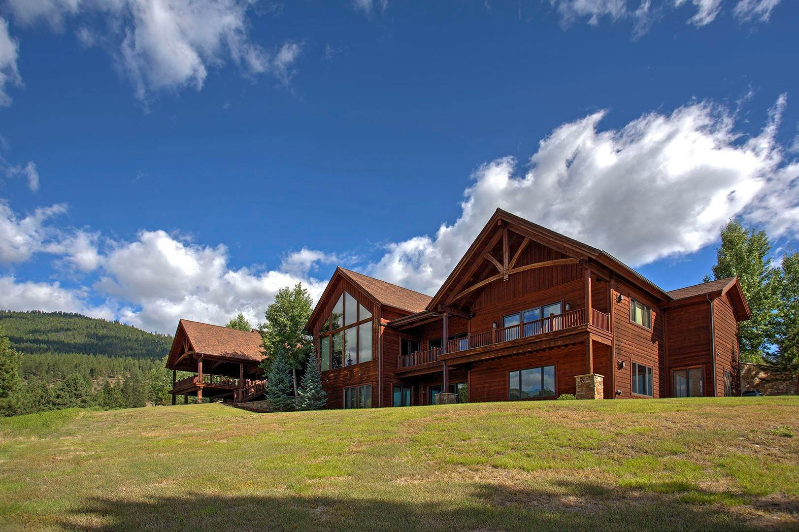 10. Single Family Homes for Sale at 848 Sweathouse Creek Road Victor, Montana 59875 United States