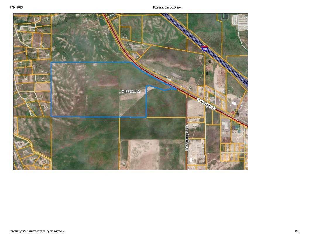 Land for Sale at Us Highway 10 Missoula, Montana 59808 United States