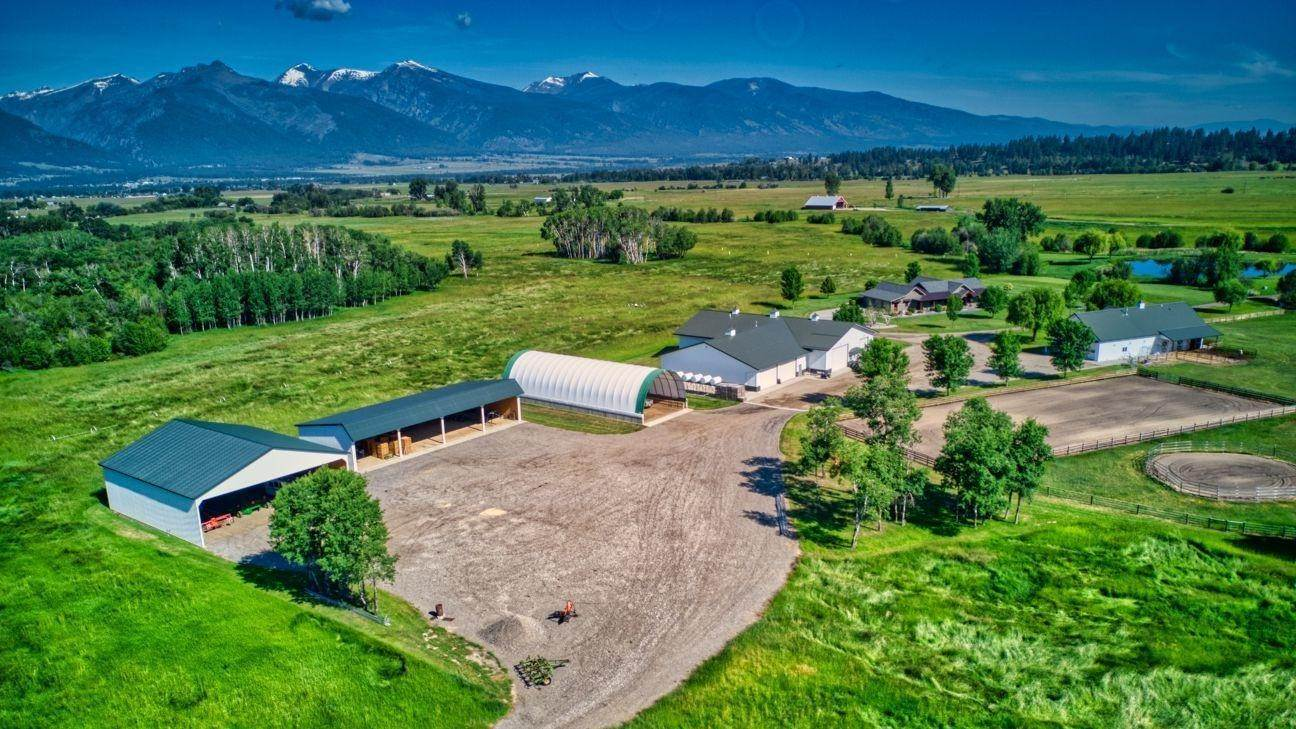 Single Family Homes for Sale at 711 Middle Burnt Fork Road Stevensville, Montana 59870 United States