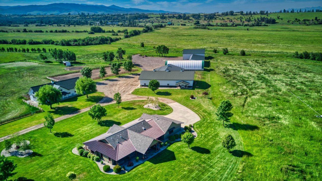 3. Single Family Homes for Sale at 711 Middle Burnt Fork Road Stevensville, Montana 59870 United States