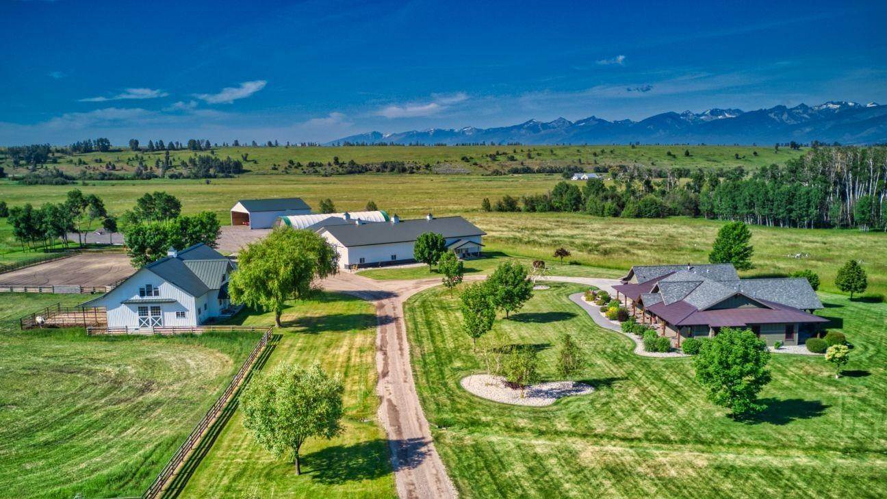 2. Single Family Homes for Sale at 711 Middle Burnt Fork Road Stevensville, Montana 59870 United States