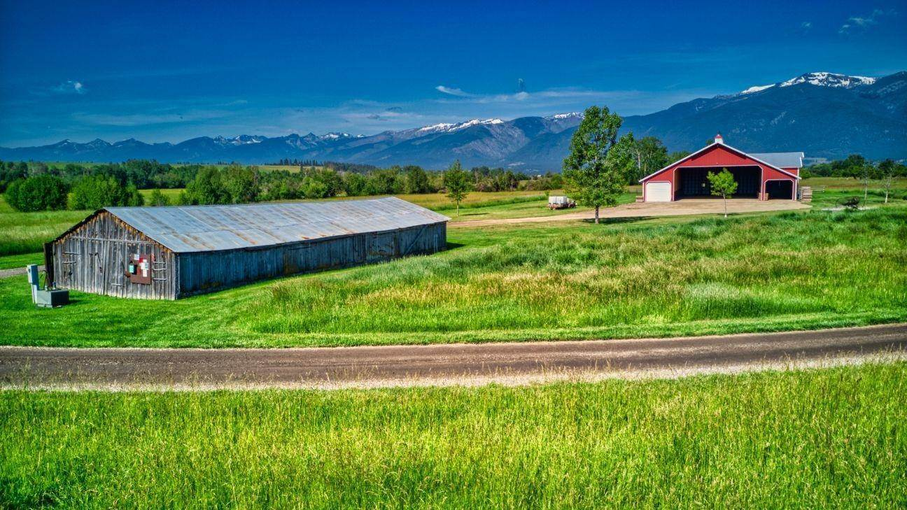 5. Single Family Homes for Sale at 711 Middle Burnt Fork Road Stevensville, Montana 59870 United States