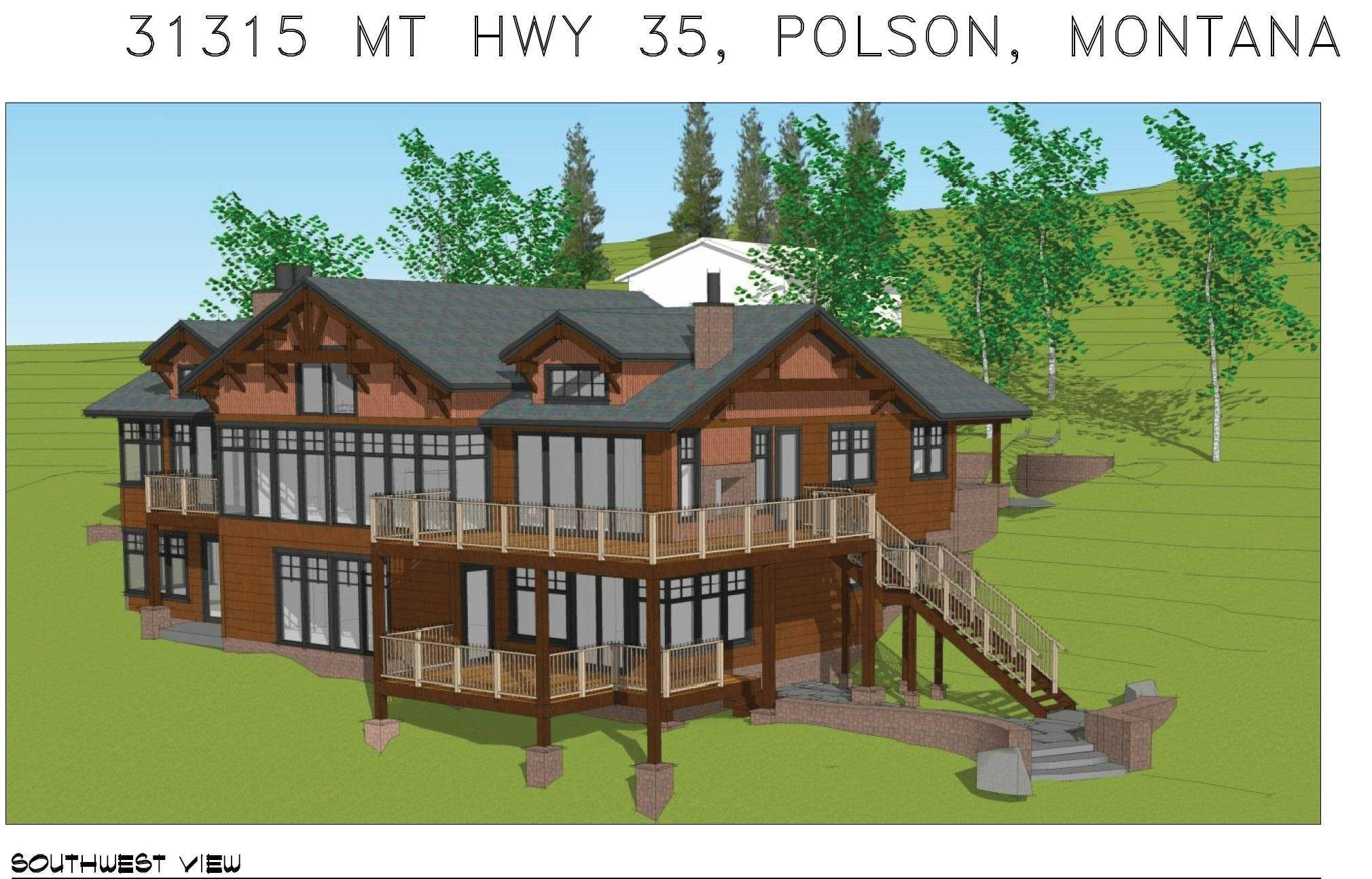 Single Family Homes for Sale at 31315 Montana Hwy 35 Polson, Montana 59860 United States