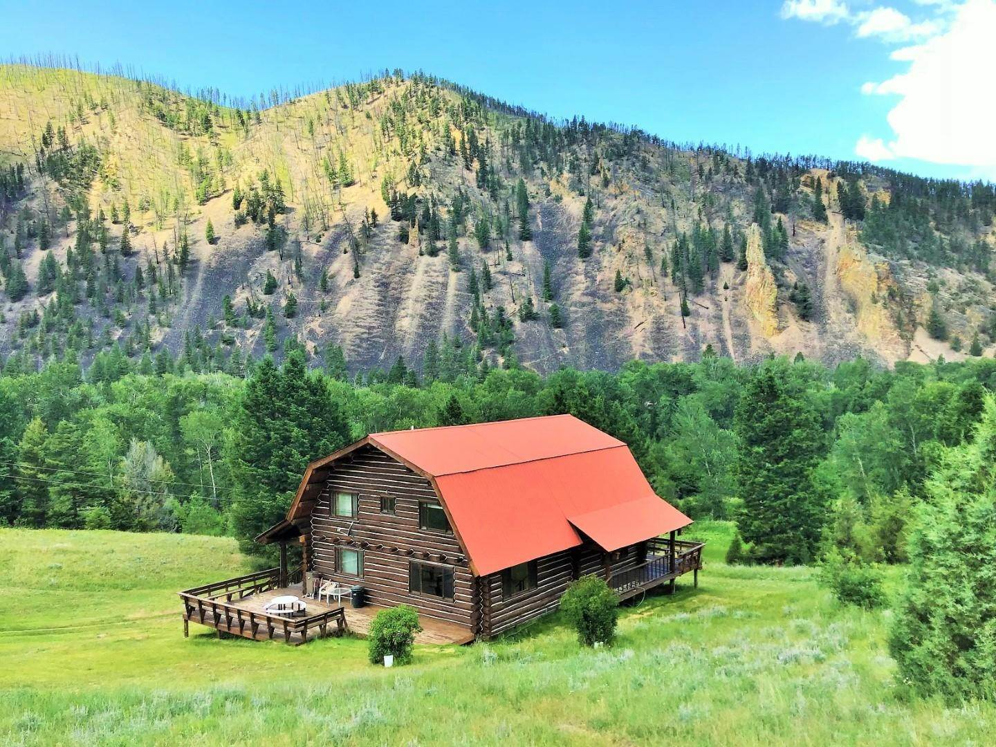 Single Family Homes for Sale at 1622 Upper Rock Creek Road Philipsburg, Montana 59858 United States