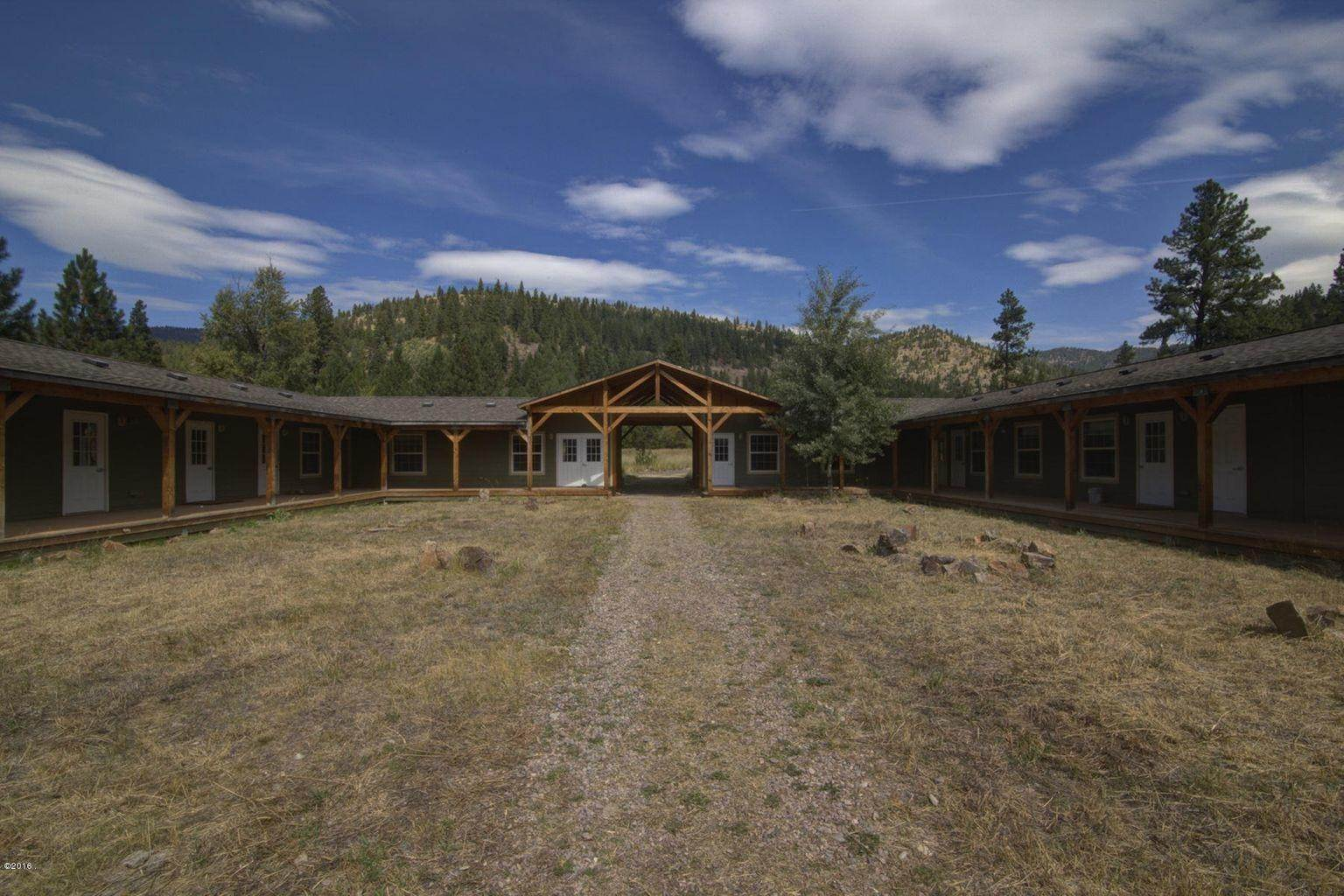 10. Single Family Homes for Sale at 12500 Cramer Creek Road Clinton, Montana 59825 United States
