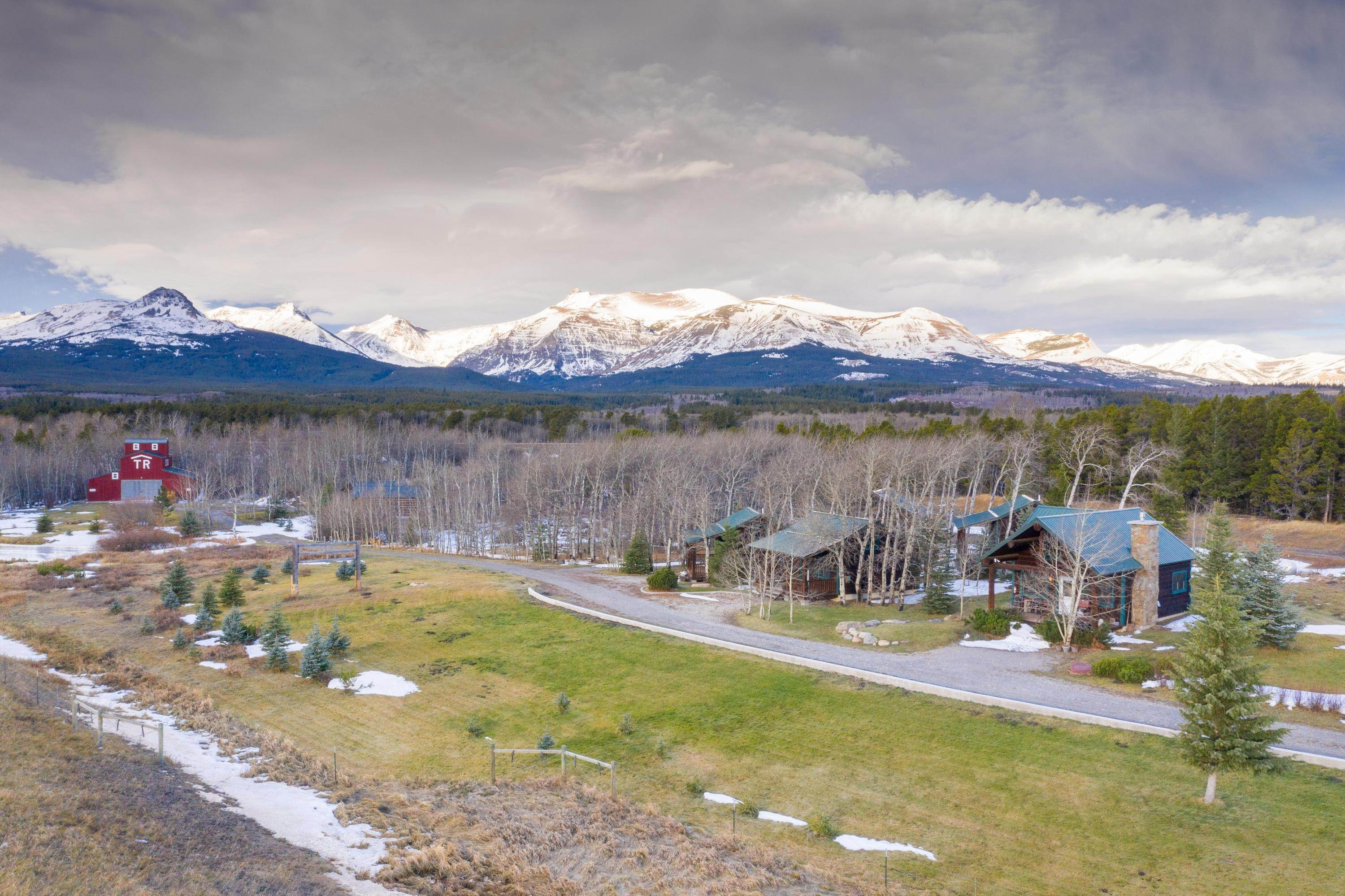 Single Family Homes for Sale at 20987 Us Highway 2 East East Glacier Park, Montana 59434 United States