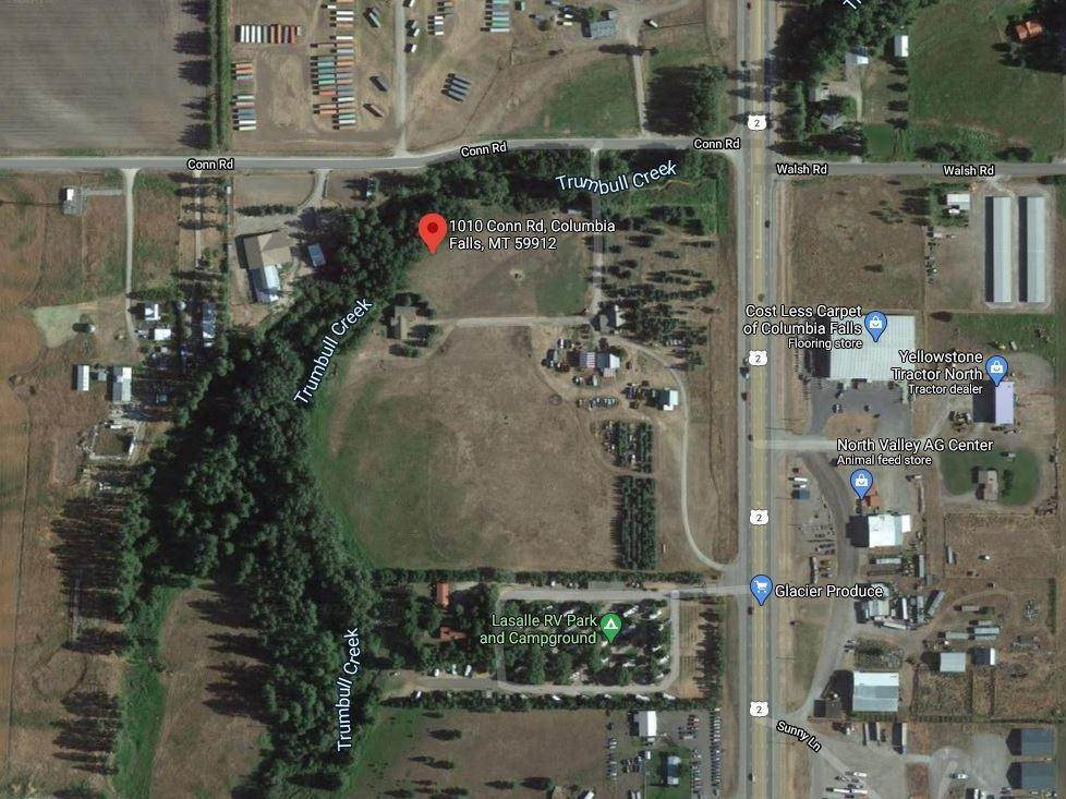 Land for Sale at 1010 Conn Road Columbia Falls, Montana 59912 United States