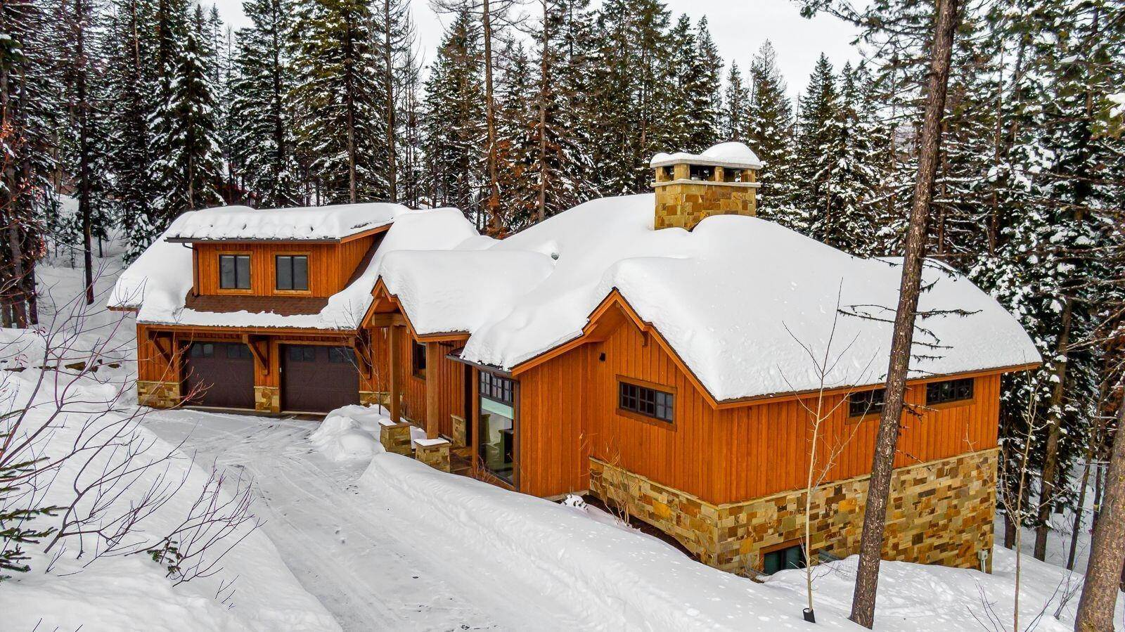 2. Single Family Homes for Sale at 1074 Whispering Pines Lane Whitefish, Montana 59937 United States