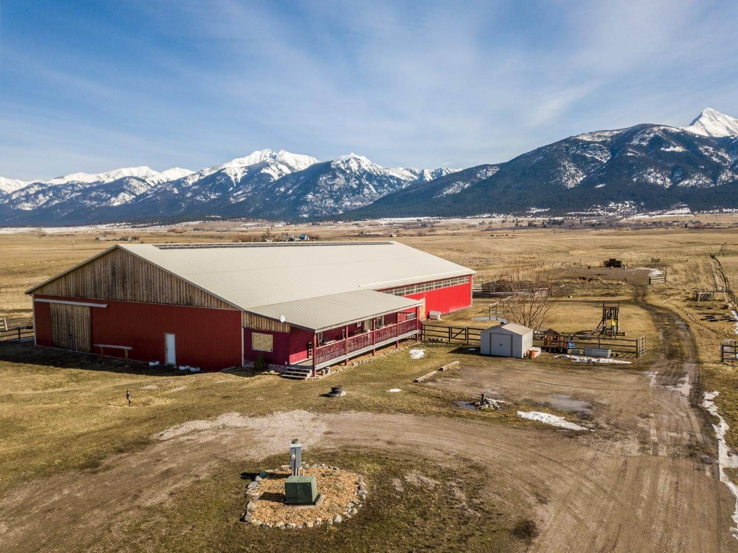 Single Family Homes for Sale at 56652 Watson Road St. Ignatius, Montana 59865 United States