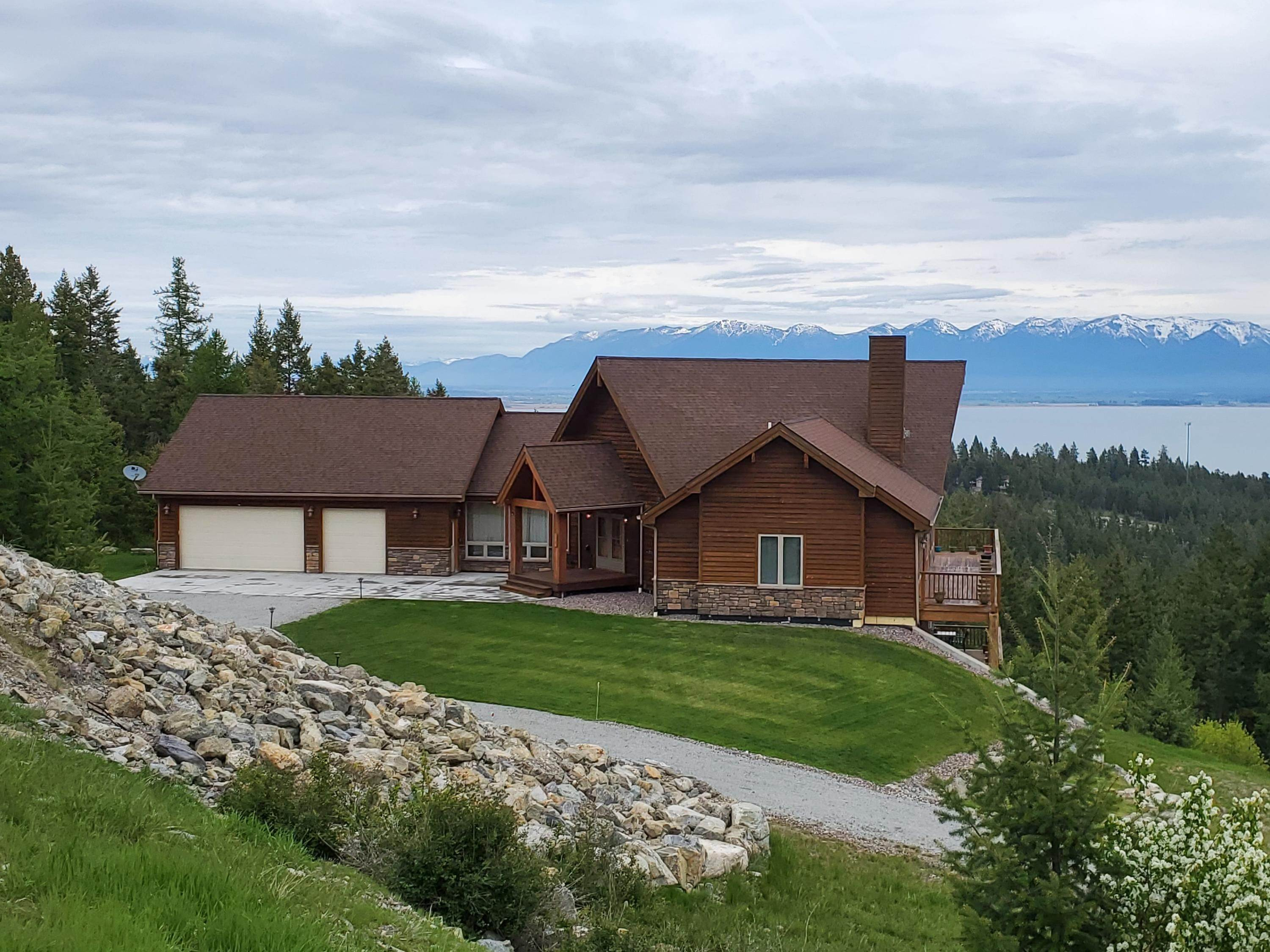 Single Family Homes for Sale at 24 Greenbrae Lane Lakeside, Montana 59922 United States
