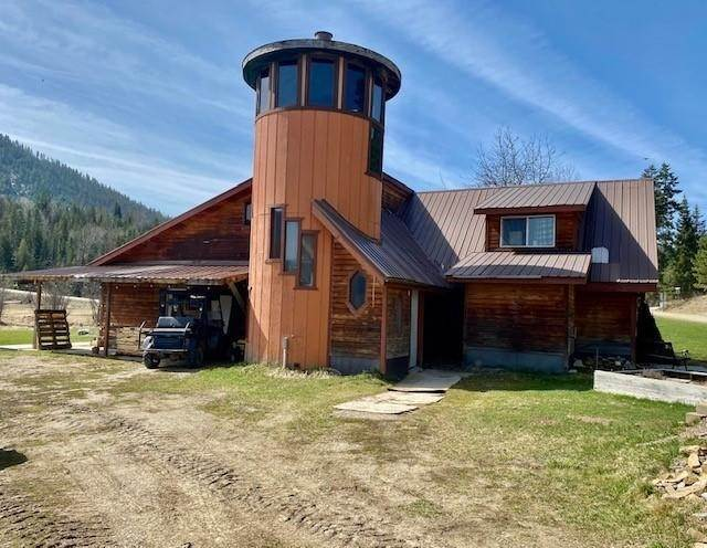 Single Family Homes for Sale at 145 Winchester Road Heron, Montana 59844 United States