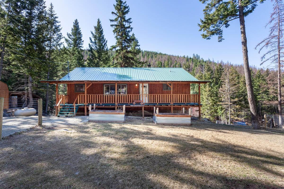 Single Family Homes for Sale at 1995 Emmons Canyon Road Kila, Montana 59920 United States