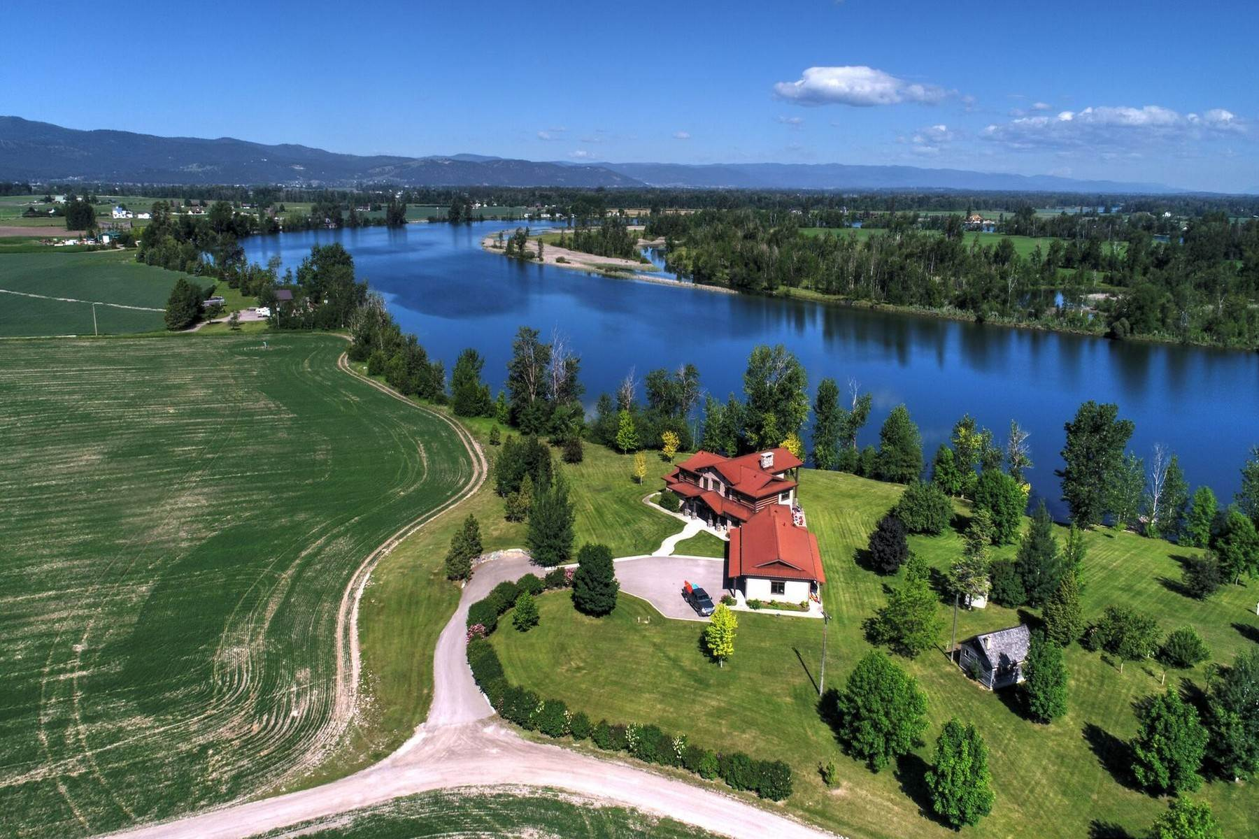 Single Family Homes for Sale at 2239 Lower Valley Road Kalispell, Montana 59901 United States