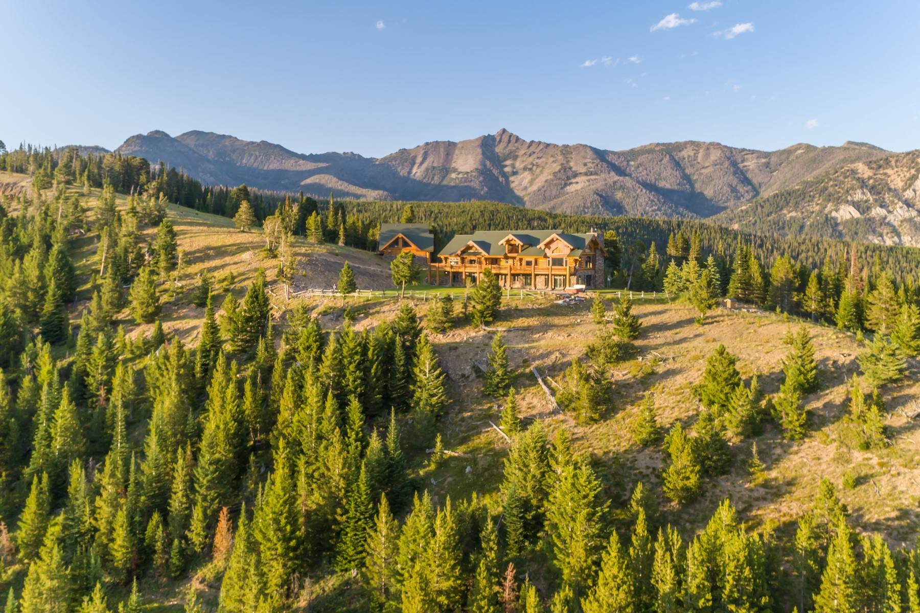 Property for Sale at Montana De Paz 1320 Old Toby Road Big Sky, Montana 59716 United States