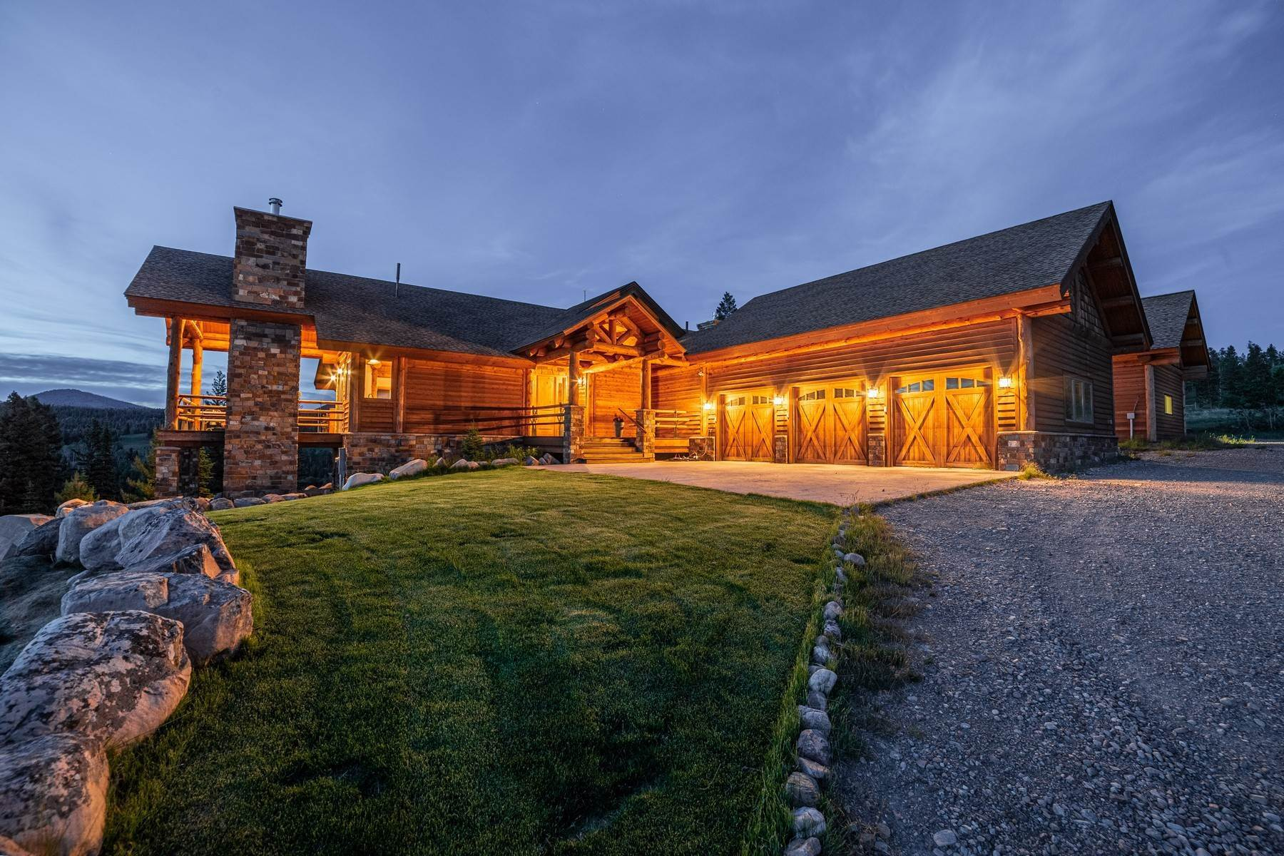 Single Family Homes for Sale at Krohn Lake Ranch Lincoln, Montana 59639 United States