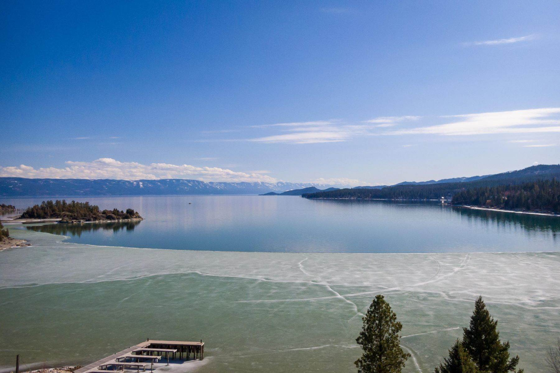 44. Single Family Homes for Sale at Flathead Lake Living 5505 Us Hwy 93 Somers, Montana 59932 United States