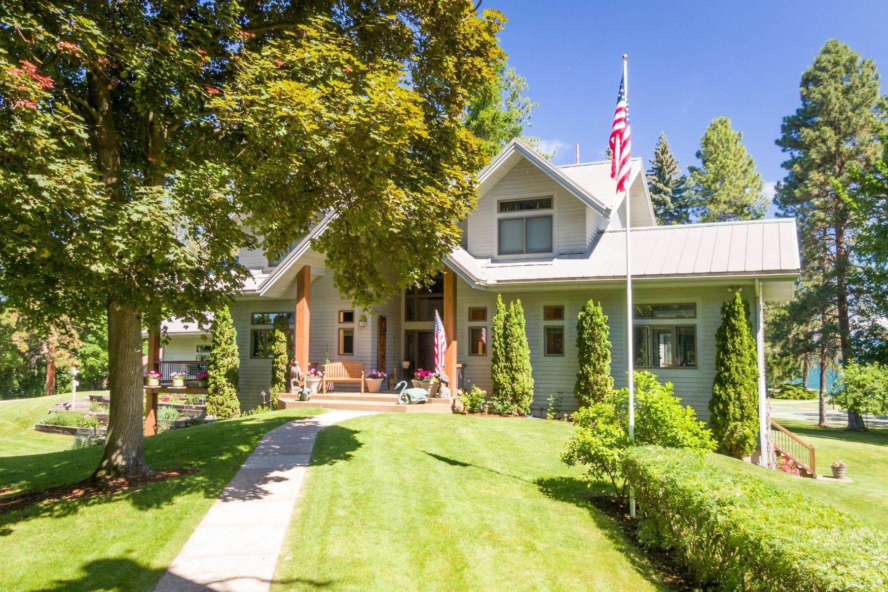 12. Single Family Homes for Sale at 34612 Dixon Lane Polson, Montana 59860 United States