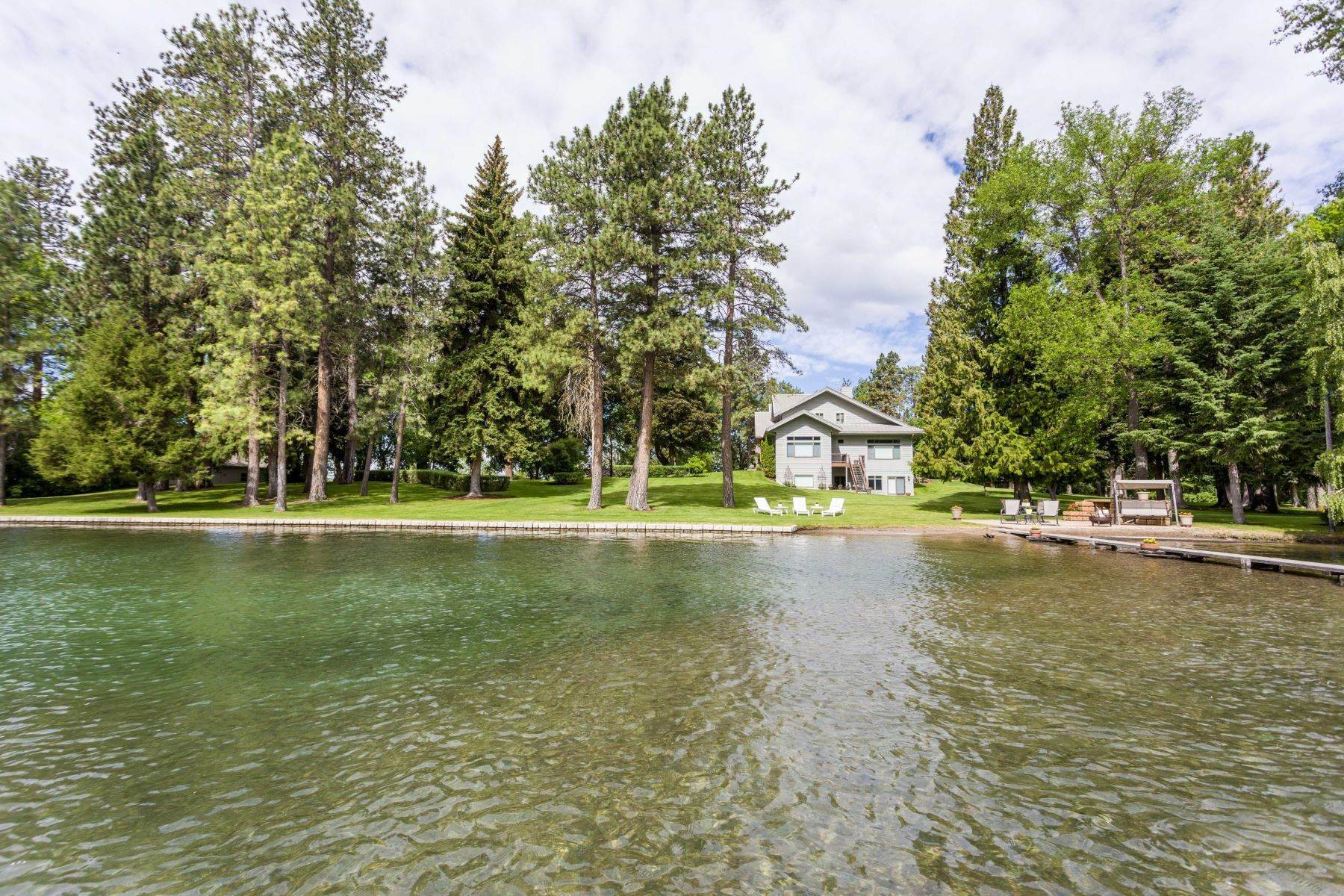 11. Single Family Homes for Sale at 34612 Dixon Lane Polson, Montana 59860 United States
