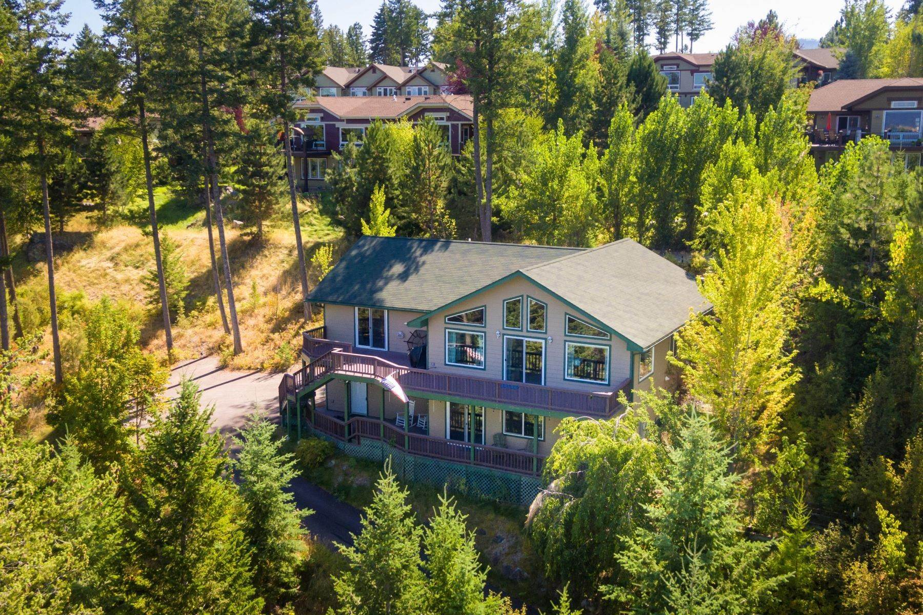 Single Family Homes for Sale at Mission View Family Home 190 Ridgewood Drive Lakeside, Montana 59922 United States