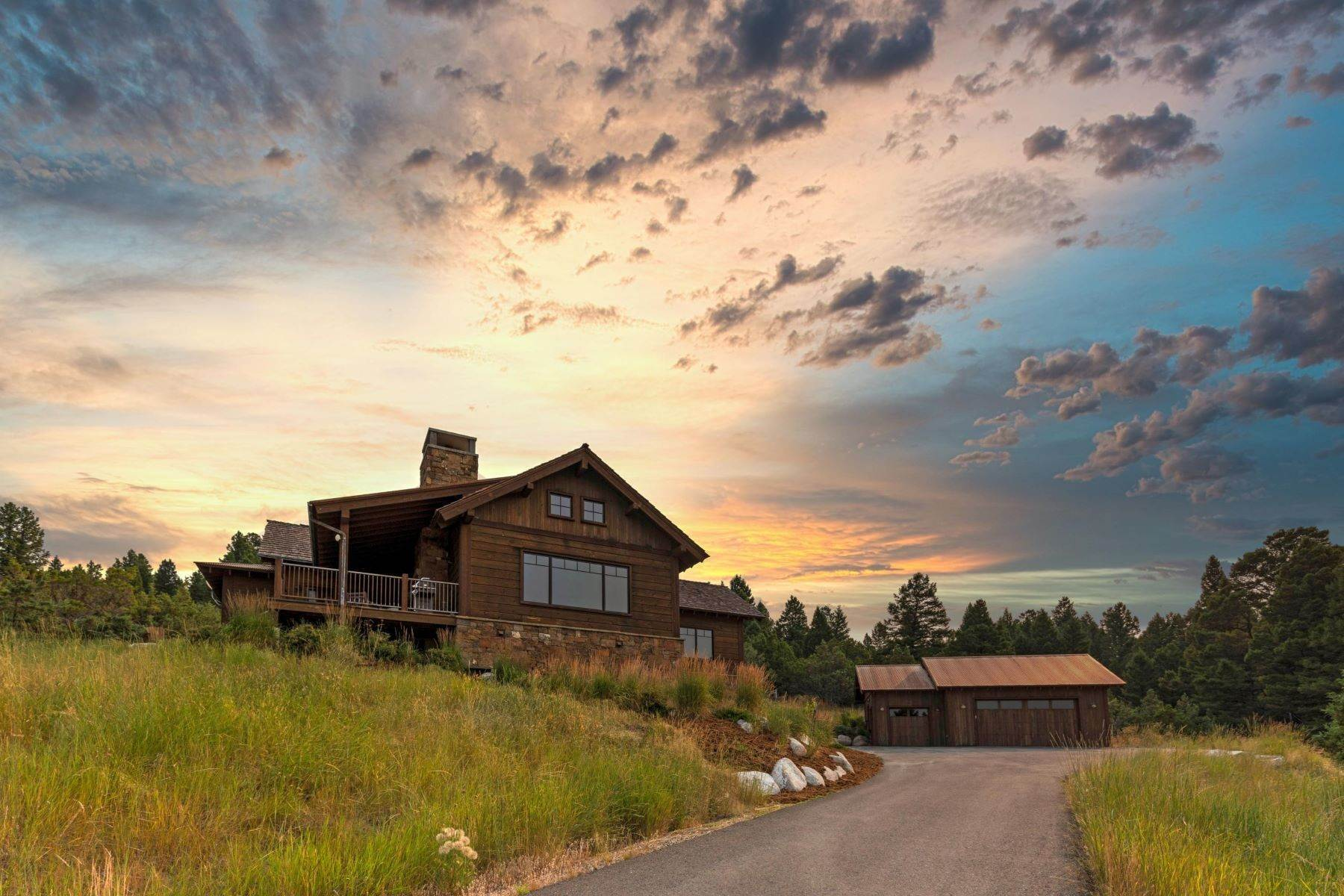 Single Family Homes for Sale at Flint Range and Mount Powell Views 1712 Flint View Road Deer Lodge, Montana 59722 United States