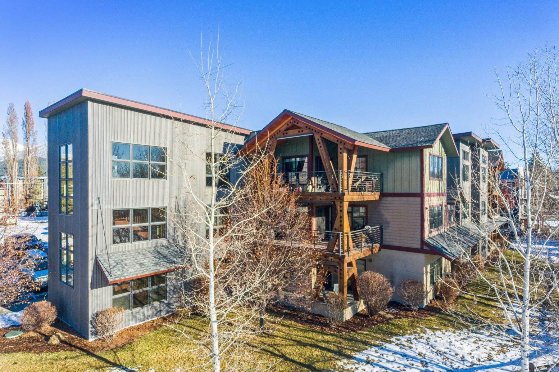Condominiums for Sale at Mountain View Condo 645 Woodland Place , unit 12 Whitefish, Montana 59937 United States