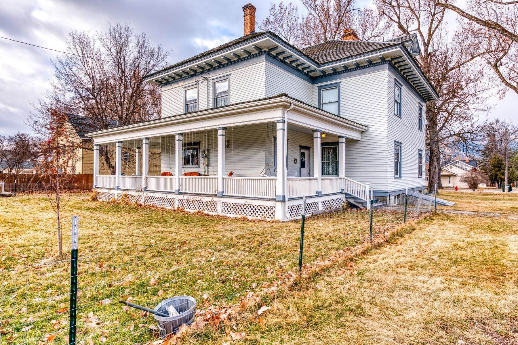 4. Single Family Homes for Sale at Historic Bass Mansion 100 College Street Stevensville, Montana 59870 United States