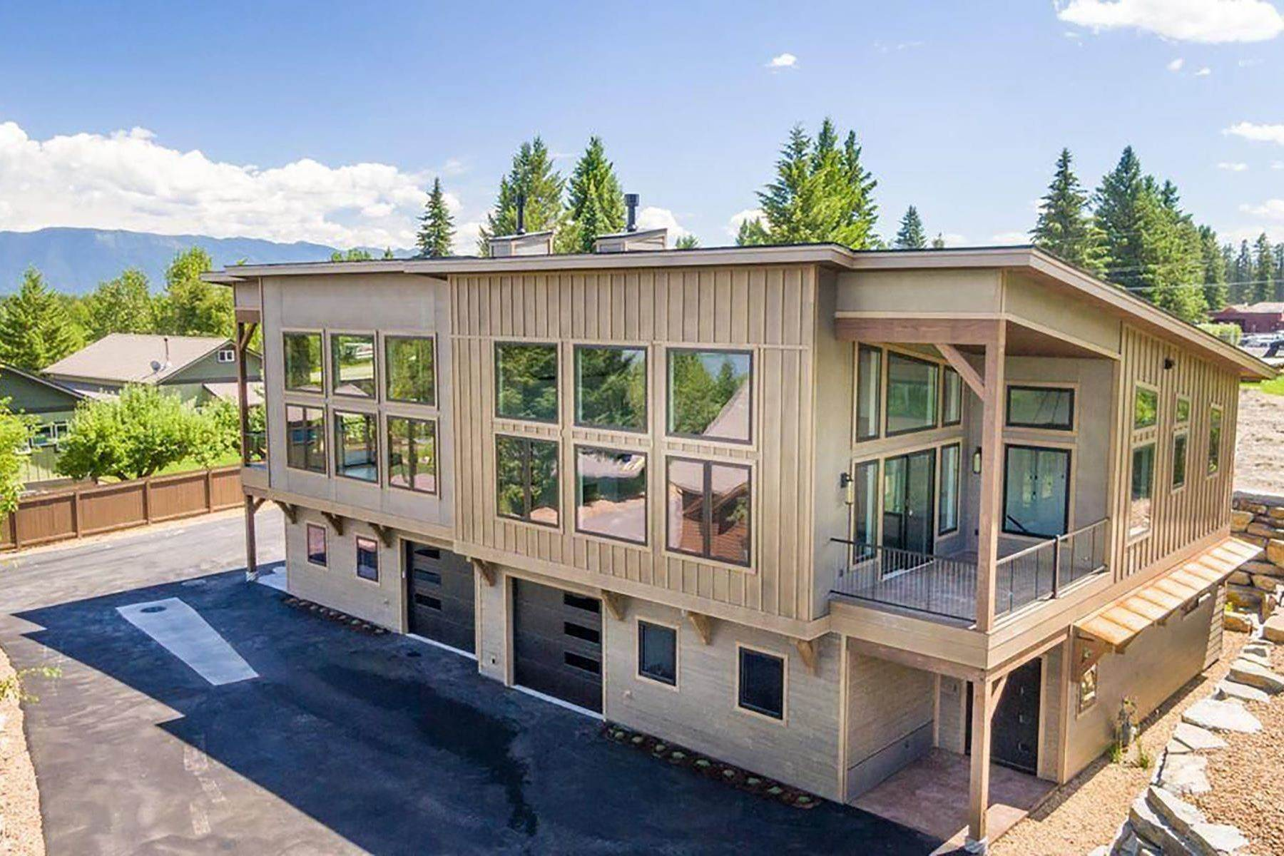 townhouses for Sale at Luxury Mountain Modern Townhome 309 Fraser Avenue Whitefish, Montana 59937 United States