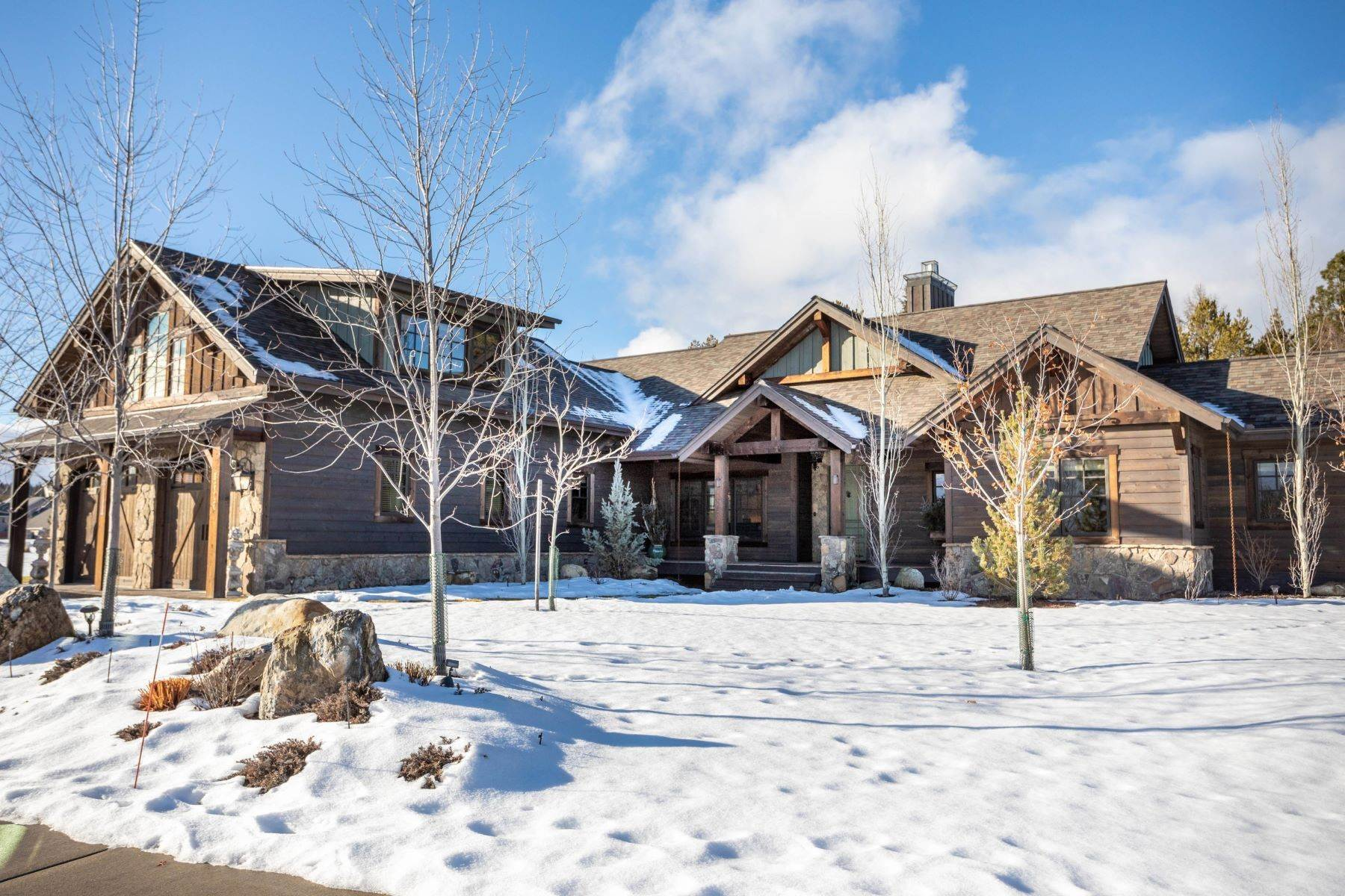 Single Family Homes for Sale at Along the Whitefish River 3010 River Lakes Drive Whitefish, Montana 59937 United States