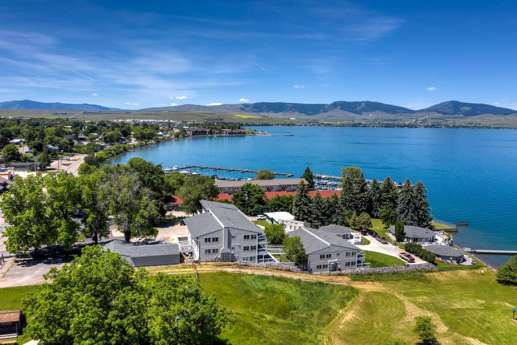 5. Multi-Family Homes for Sale at Lake Place Condos 50300 Us Hwy 93 Polson, Montana 59860 United States