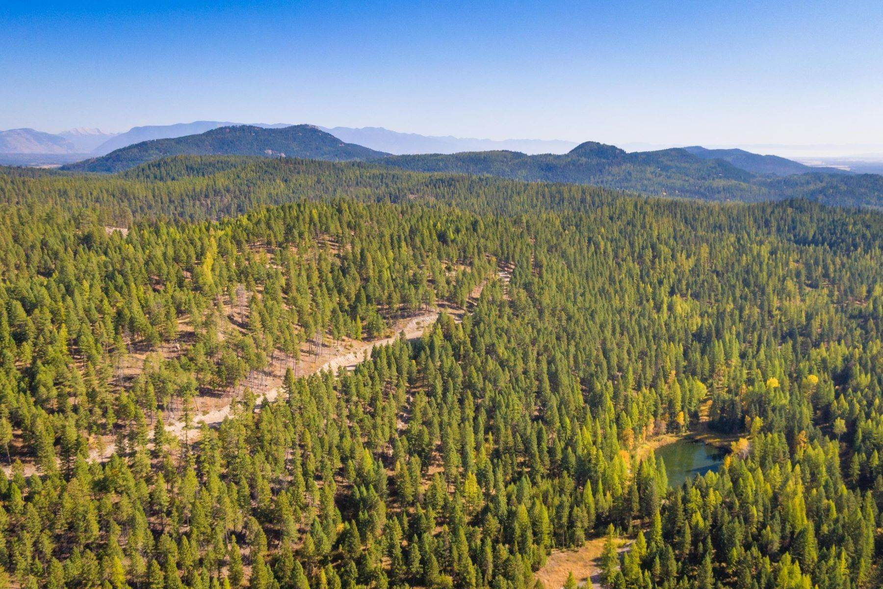 38. Land for Sale at Northwest Montana Forest, Meadows and Ponds 295 Garland Lane Whitefish, Montana 59937 United States