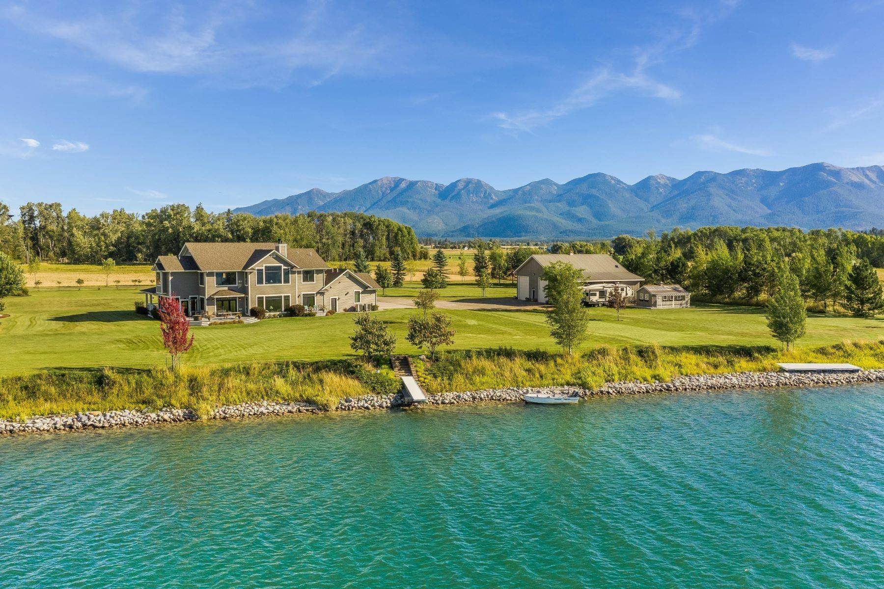 Single Family Homes at Flathead River Custom Home 660 Sonstelie Road Kalispell, Montana 59901 United States