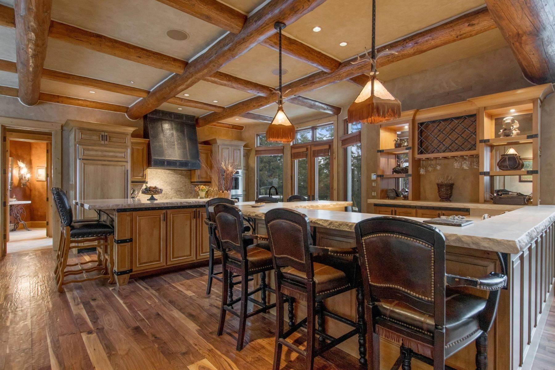 5. Single Family Homes for Sale at Magnificent Mountain Architecture 105 Huckleberry Lane Whitefish, Montana 59937 United States