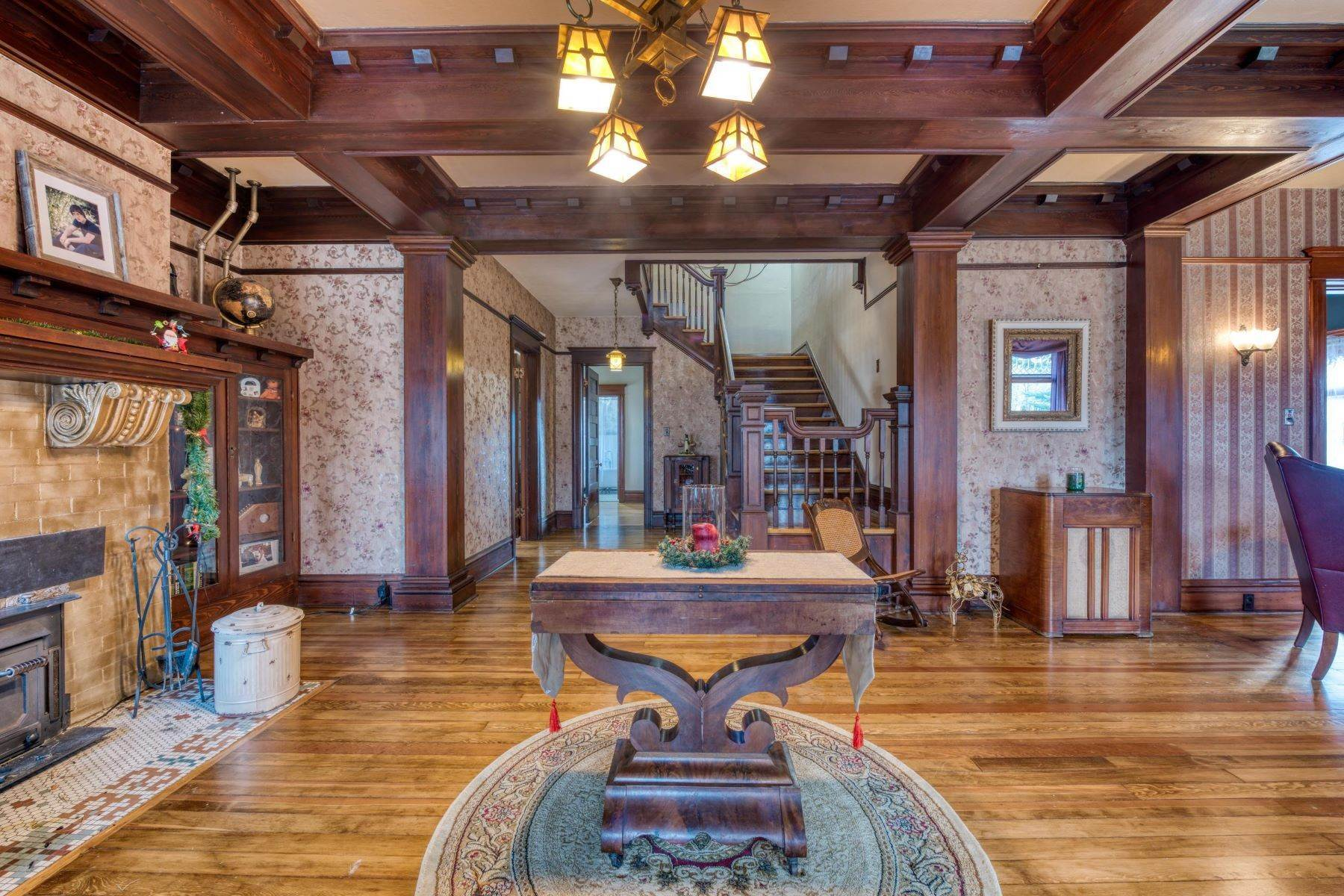 6. Single Family Homes for Sale at Historic Bass Mansion 100 College Street Stevensville, Montana 59870 United States
