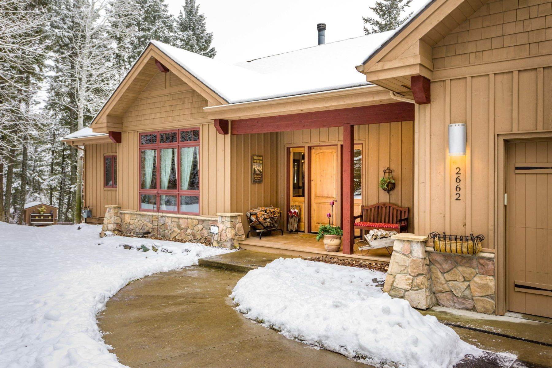 Property for Sale at Whitefish Lake View Home 2662 Rest Haven Drive Whitefish, Montana 59937 United States