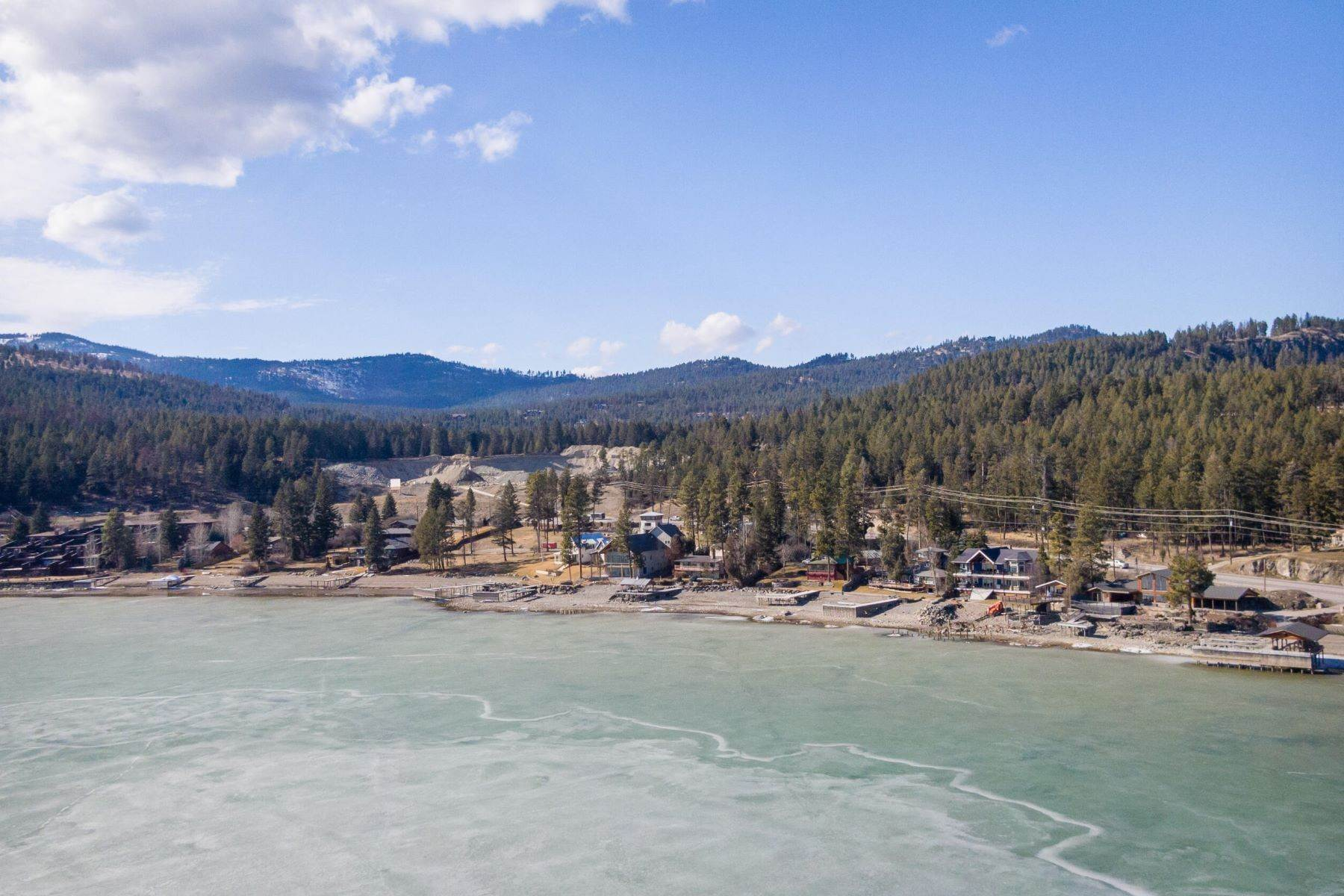 45. Single Family Homes for Sale at Flathead Lake Living 5505 Us Hwy 93 Somers, Montana 59932 United States