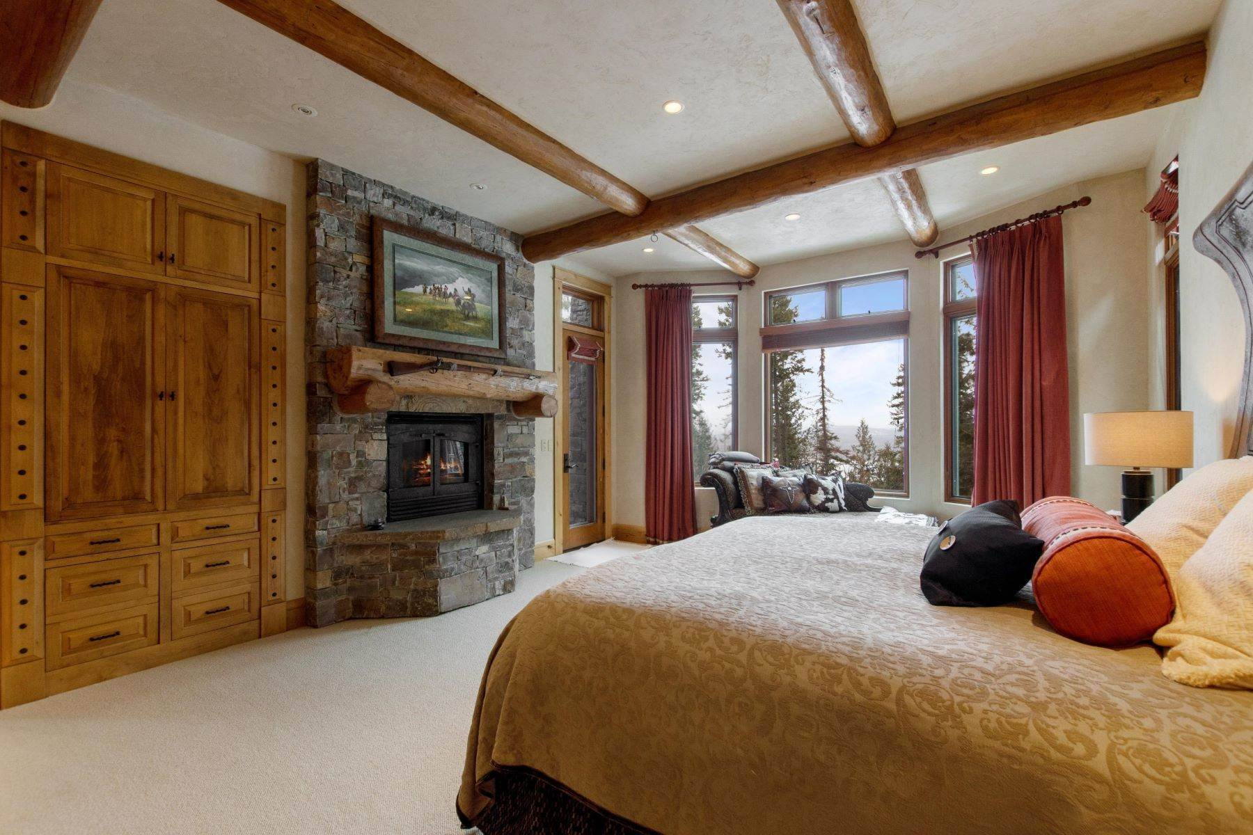 12. Single Family Homes for Sale at Magnificent Mountain Architecture 105 Huckleberry Lane Whitefish, Montana 59937 United States