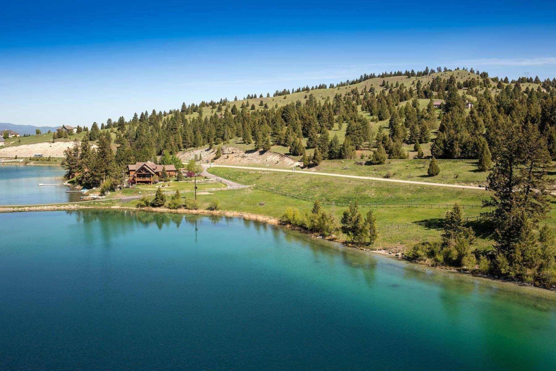 Property for Sale at Foys Lake Island 54 Treasure Island Way Kalispell, Montana 59901 United States