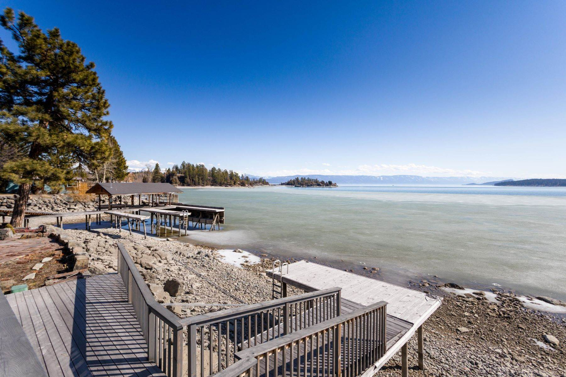 43. Single Family Homes for Sale at Flathead Lake Living 5505 Us Hwy 93 Somers, Montana 59932 United States