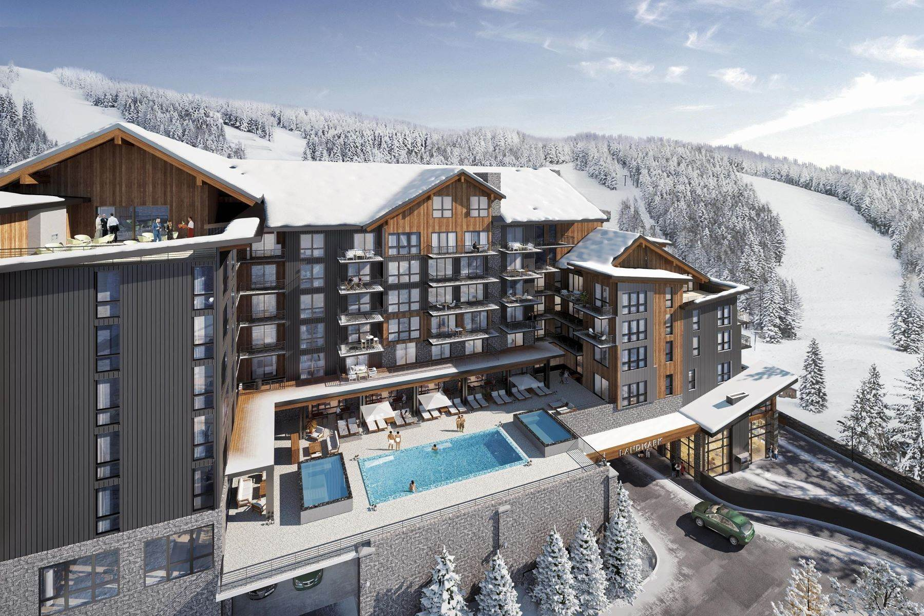 Condominiums for Sale at Landmark Whitefish 3900 Big Mountain Road Whitefish, Montana 59937 United States
