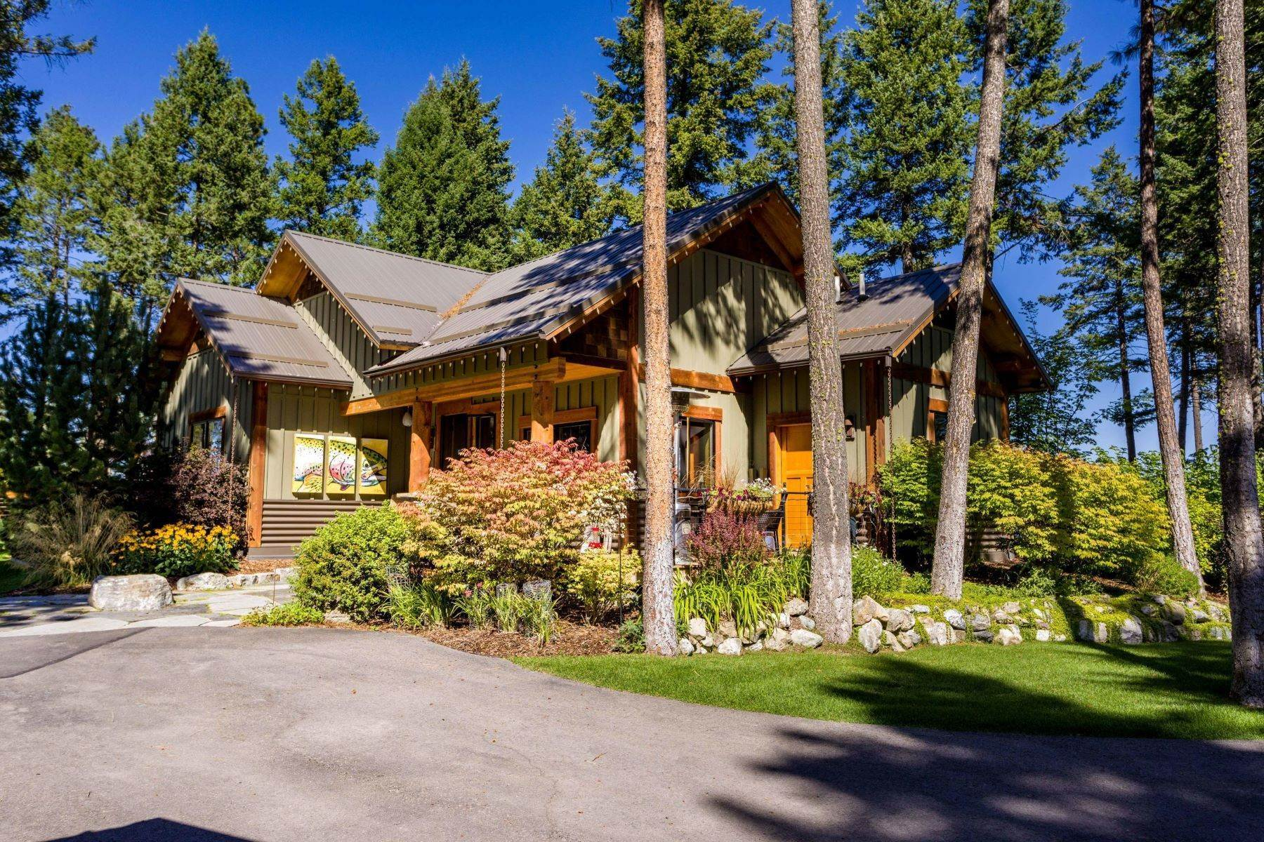 Single Family Homes for Sale at Commanding Views 200 & 250 Big Pine Trail Lakeside, Montana 59922 United States