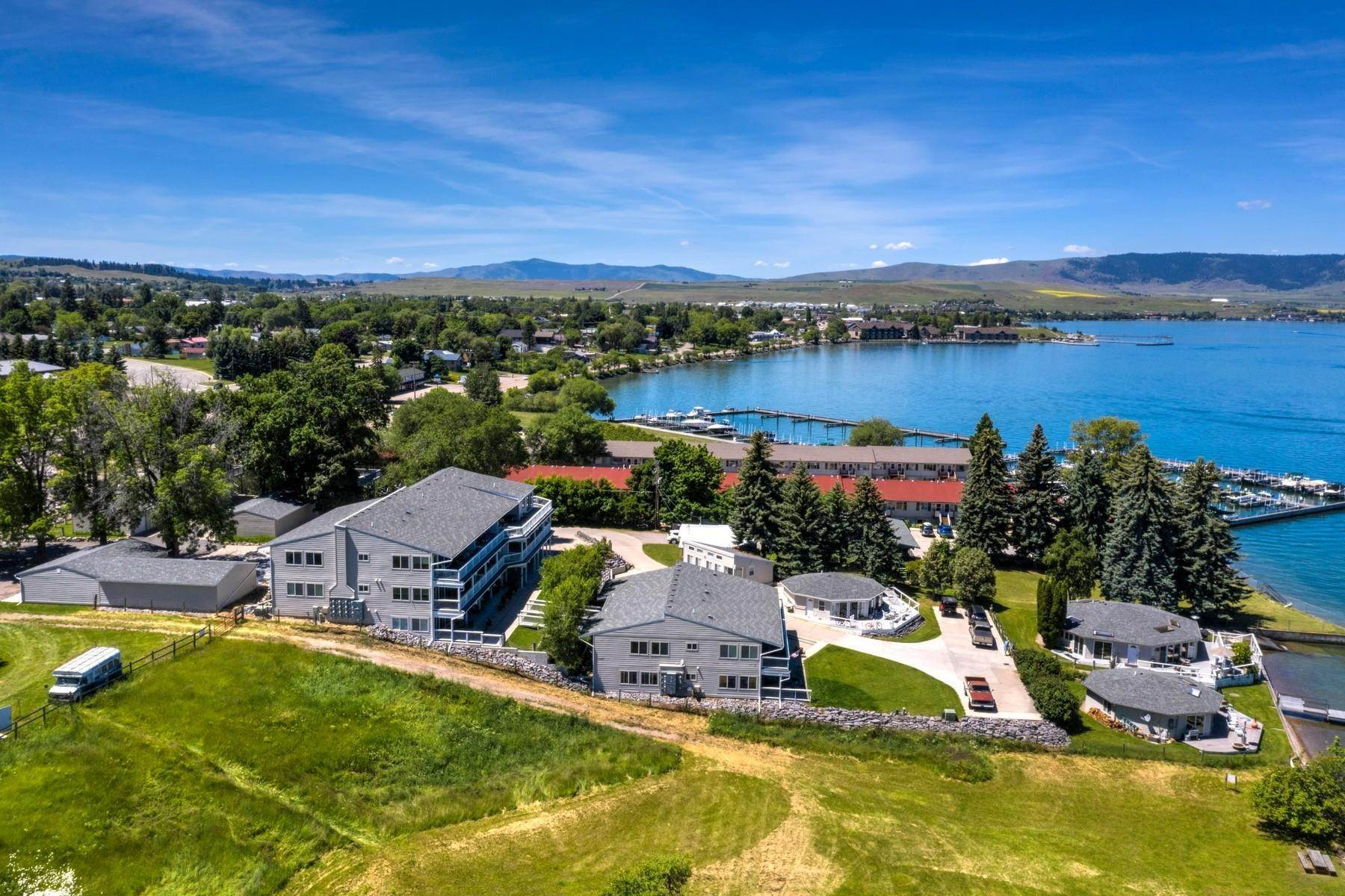 8. Multi-Family Homes for Sale at Lake Place Condos 50300 Us Hwy 93 Polson, Montana 59860 United States