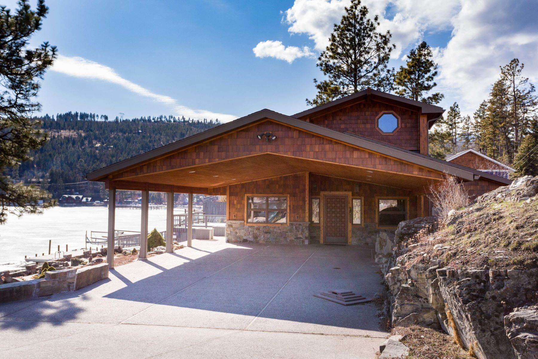 32. Single Family Homes for Sale at Flathead Lake Living 5505 Us Hwy 93 Somers, Montana 59932 United States