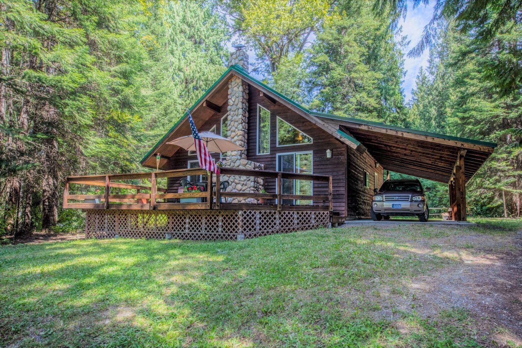 Single Family Homes for Sale at Bull Lake Home 14941 Bull Lake Road Troy, Montana 59935 United States