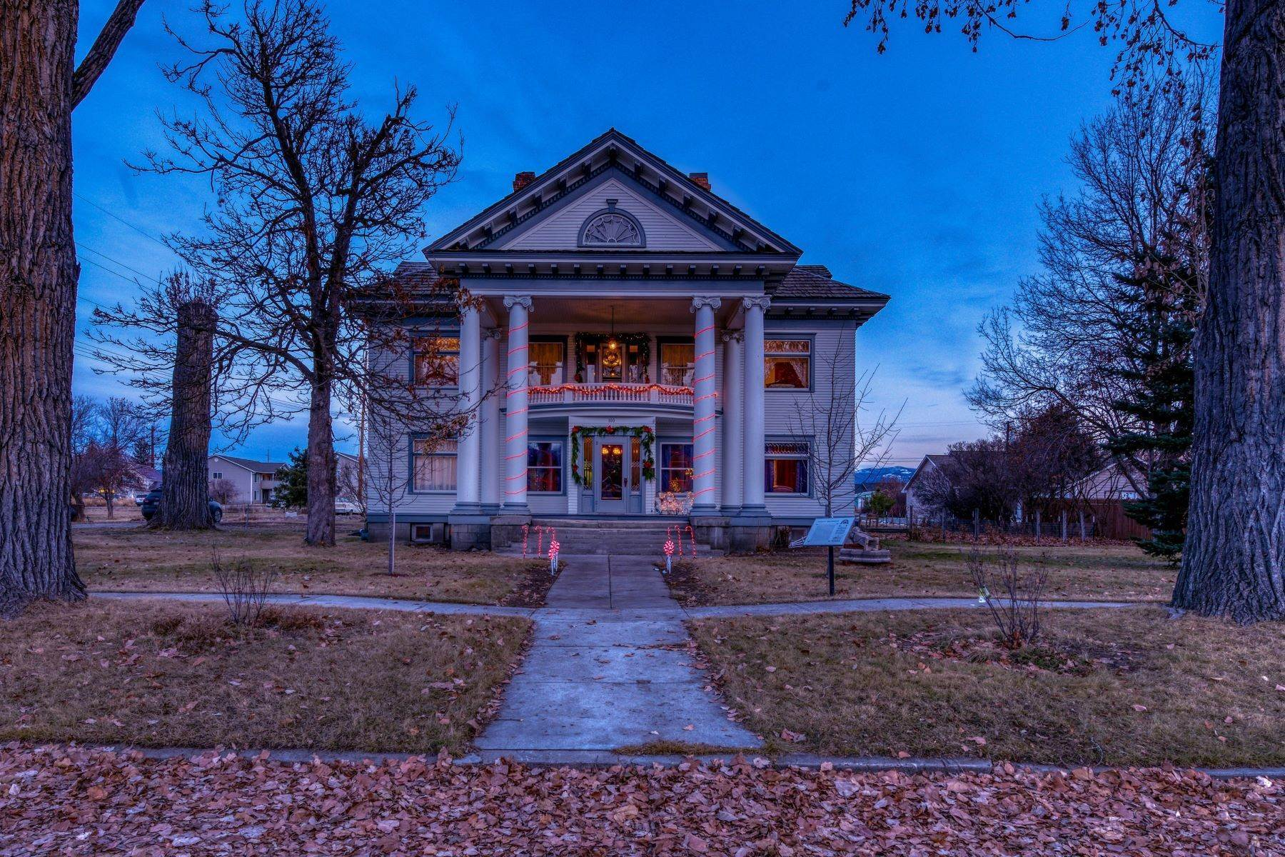 44. Single Family Homes for Sale at Historic Bass Mansion 100 College Street Stevensville, Montana 59870 United States
